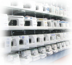 Принцип работы электромеханической швейной машинки.