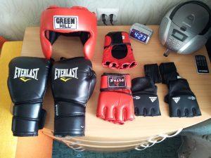 Экипировка для бокса и тайского бокса